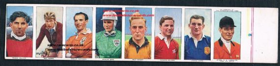 1955 8 uncut British Automatic Sportsmen Stanley Matthews Stirling Moss Billy Wright George Young